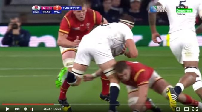 Lydiate tackle